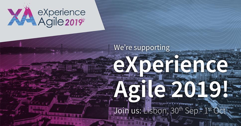 eXperience Agile 2019 com o apoio Rumos
