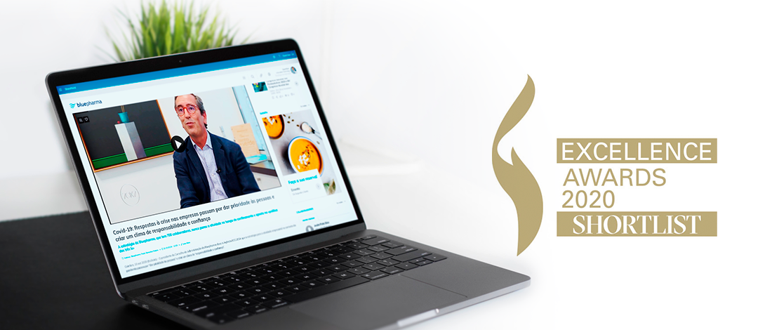 Intranet corporativa da Bluepharma, desenvolvida pela Rumos Serviços, no top 5 dos European Excellence Awards 2020